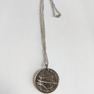 Jewelry - Basketball Necklace Sports Jewelry Hand Cut